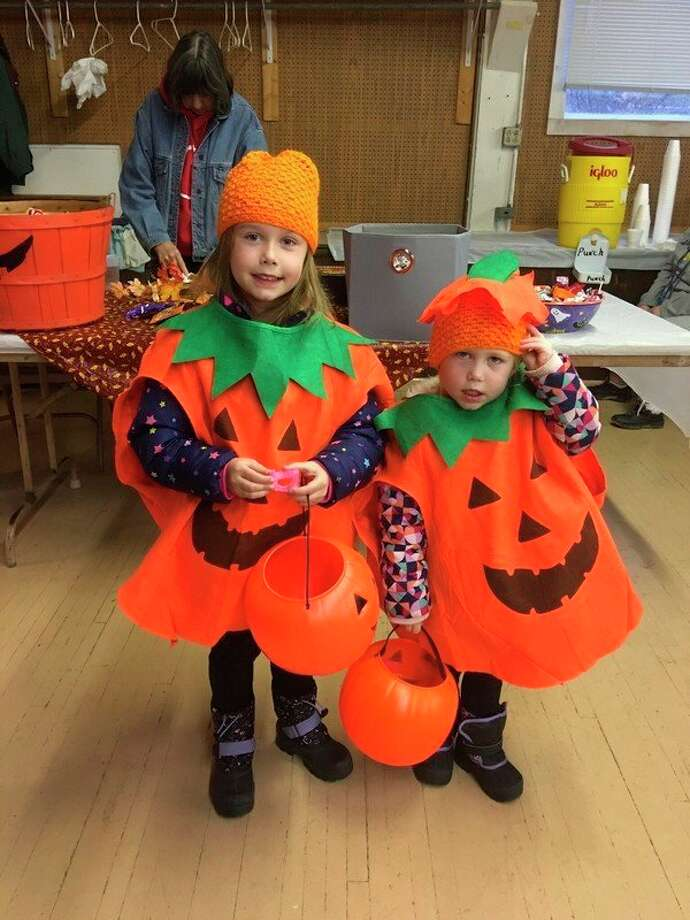Trick or treaters participate in the Onekama Lions' Halloween Party held on Oct. 31. (Courtesy photo)