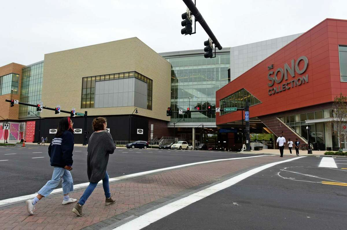 The new SoNo Collection mall opened Friday, October 11, 2019, in Norwalk, Conn.