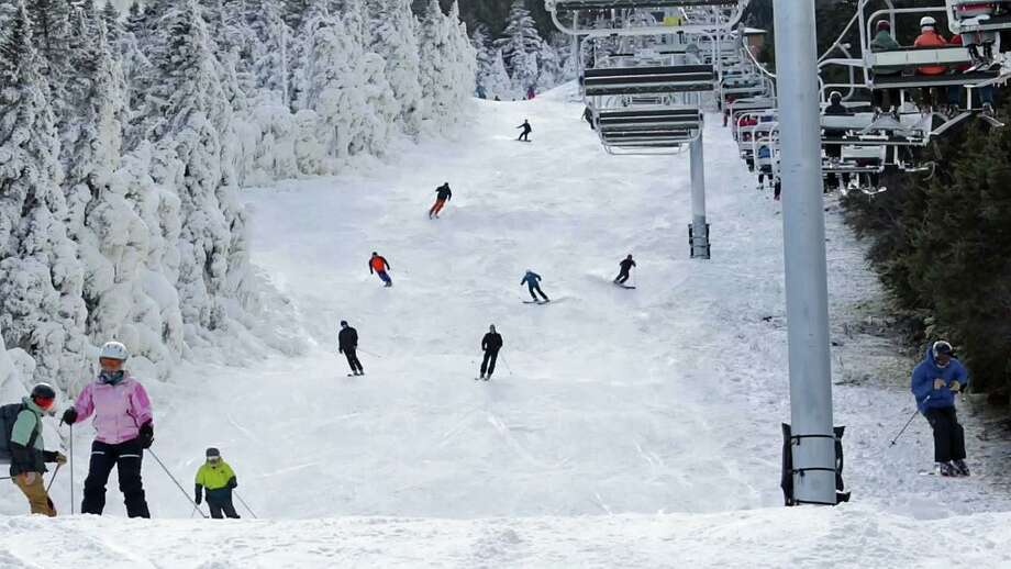 Killington in Vermont was the first ski resort to open for the season on Sunday, Nov. 3, 2019. Photo: Killington Mountain Resort