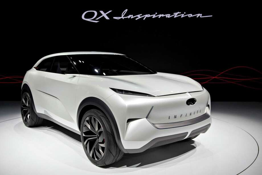 The Infiniti QX Inspiration concept vehicle at the 2019 North American International Auto Show (NAIAS) in Detroit on Jan. 14, 2019. Photo: Bloomberg Photo By Daniel Acker. / © 2019 Bloomberg Finance LP