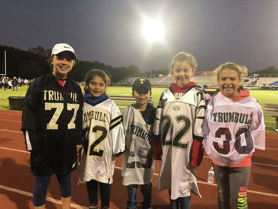Booth Hill School students enjoyed the Trumbull High School football game on Friday, Oct. 4. Photo: Contributed Photo