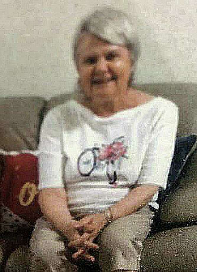 Police are looking for a 64-year-old woman who was last seen at 1:30 p.m. at an Olive Garden restaurant in Enfield. Ondine Frohberg suffers from medical conditions and cognitive disability, police said. She was last seen wearing a red and orange vertical striped shirt and navy blue pants. Photo: Enfield Police Department Photo