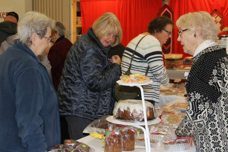 There were plenty of baked goods for sale at the Scandinavian Bazaar and Luncheon. Photo: (Photo/Colin Merry)