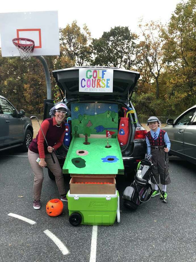 On Friday, Oct. 25, Booth Hill School held their Halloween Spooktacular. Students enjoyed a Trunk or Treat and many Halloween games. Photo: Contributed Photos