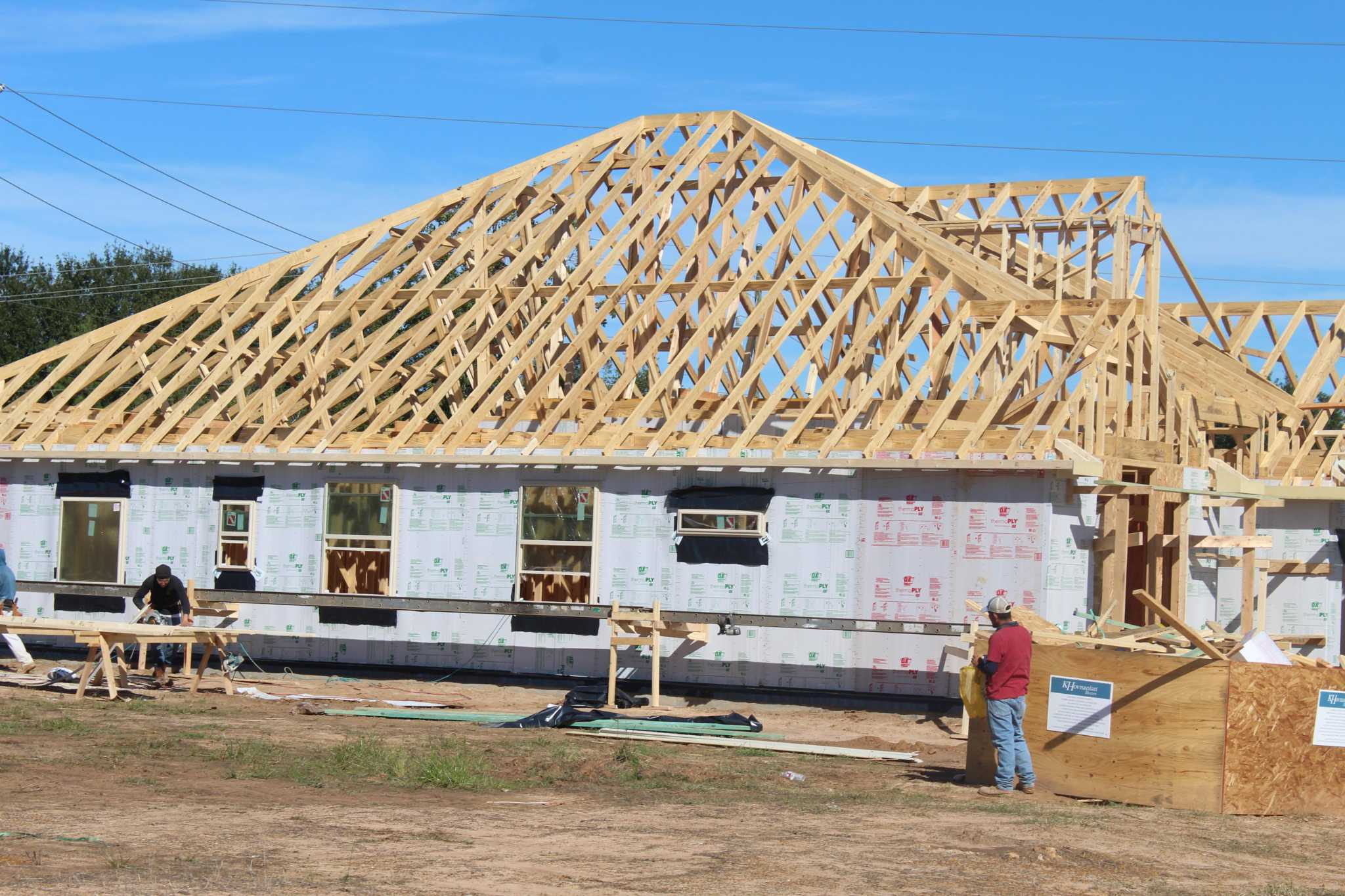 Homebuilding booms as housing starts rise 40 percent year over year