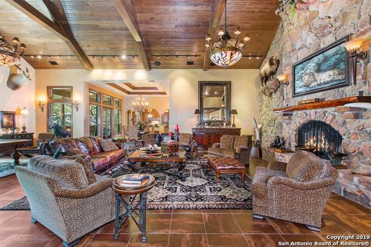 21881 Cielo Vista Dr. San Antonio, TX 78255: $6.5M 5 bedrooms | 4 full baths | 2 half baths | 7,334 sq. ft. | Year built: 1996