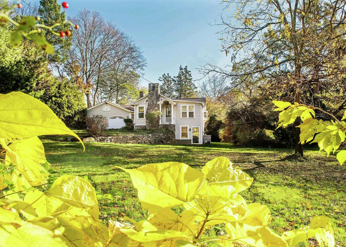 This Trumbull home, above, formerly owned by actor Will Geer, who played,