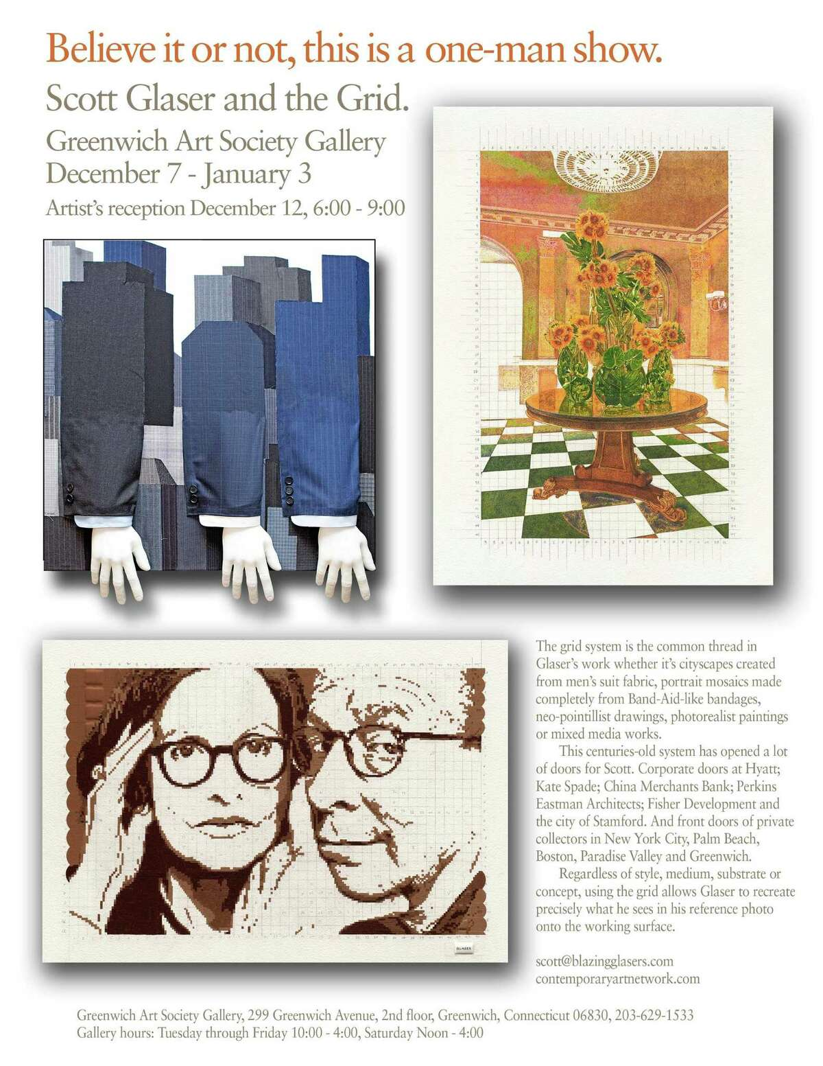 The Greenwich Art Society is hosting