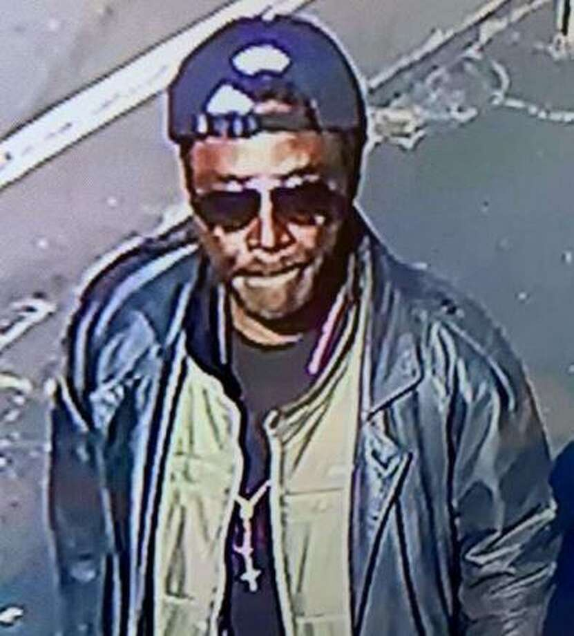 Derby Police released this surveillance photo Nov. 3 2019 of a suspect in a Derby sexual assault and a string of Ansonia larcenies. On Monday. Nov. 4, 2019, police said the suspect is now in custody. Photo: Derby Police Photo