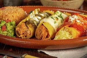 Tres Colores with charro beans will be one of the menu items at Mi Familia de Mi Tierra. La Familia Cortez will open the new restaurant in The Rim shopping center Nov. 19.