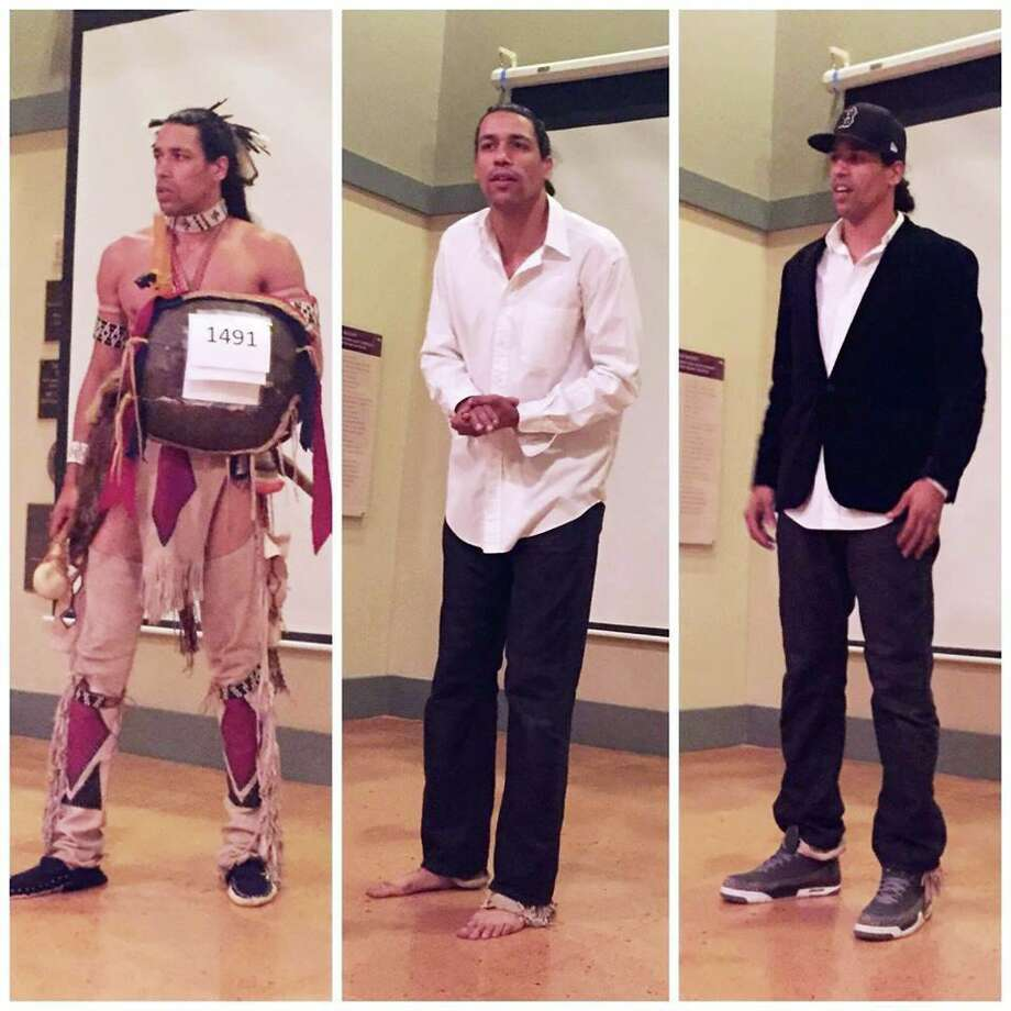 The Institute for American Indian Studies in Washington, CT, will host a highly interactive program by actor, activist, dancer and tribal mentor Annawon Weeden on November 16. Photo: Institute For American Indian Studies / Contributed Photo