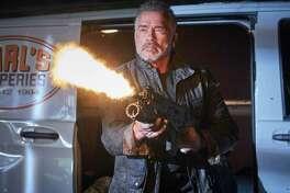 "Arnold Schwarzenegger stars in ""Terminator: Dark Fate."""