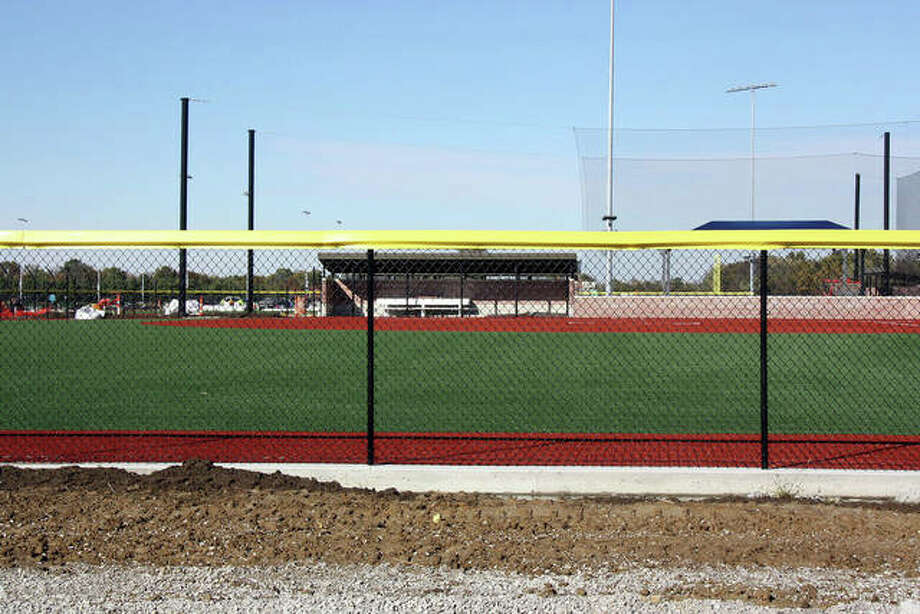 The majority of the work at the four 12 and under baseball/softball diamonds has been done at Plummer Family Park.