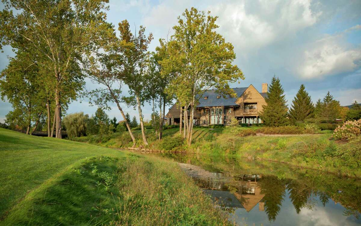 For several years developers have been building vacation homes like this one spread out on the 11,000 acres of The Greenbrier resort in White Sulphur Springs, W.Va.