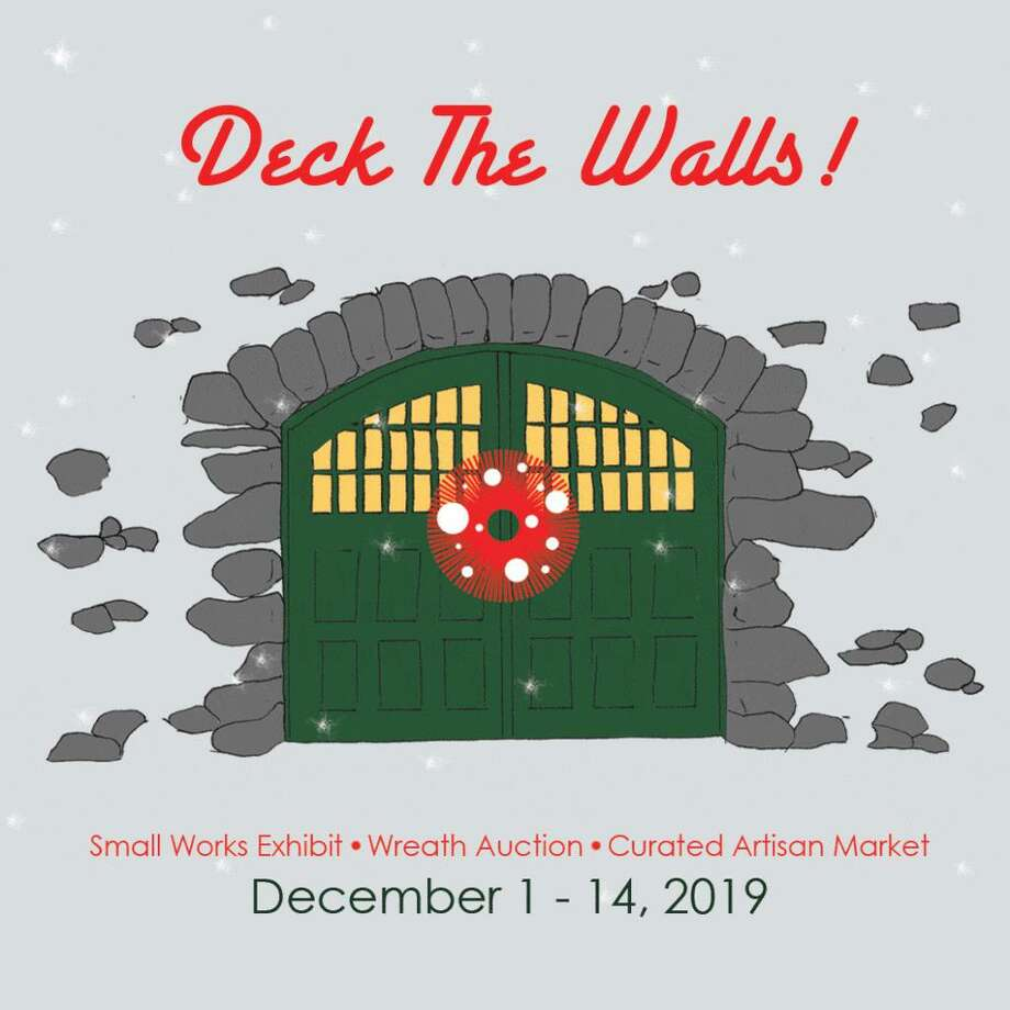 Carriage Barn Arts Center hosts their annual Deck The Walls exhibit and fundraiser Dec. 1-14. Photo: Contributed photo Photo: Contributed Photo