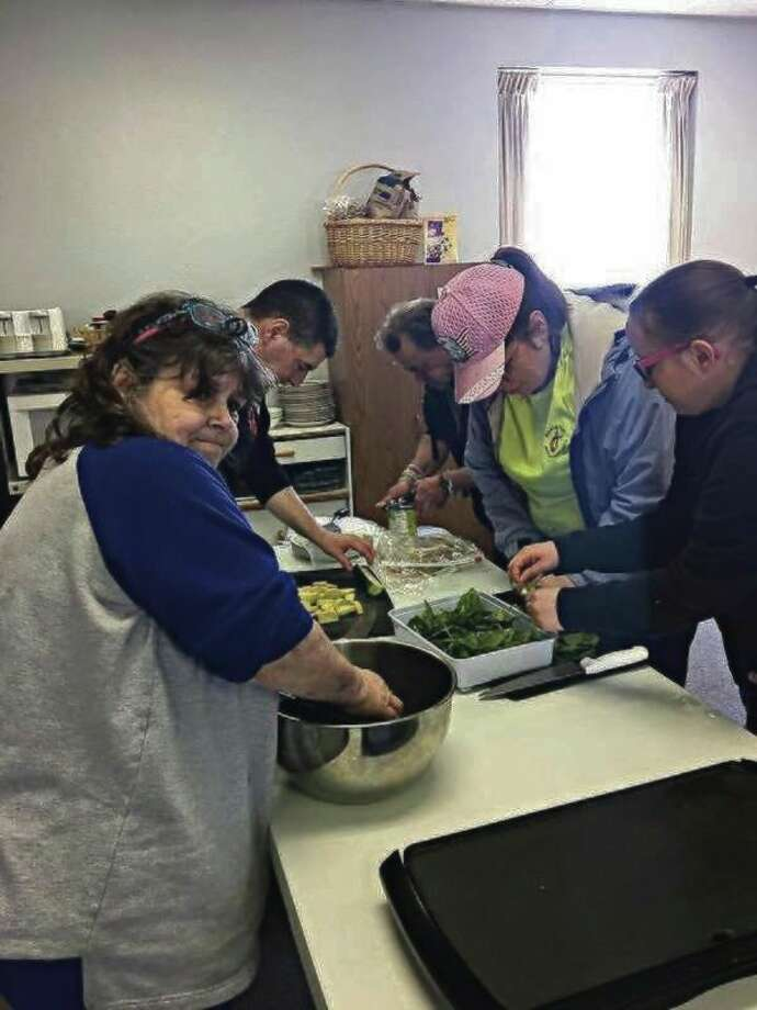 There are many ways that those who utilize Manistee Friendship Society's services can get a meal, such as through the Akers Food Angels program, cooking classes, fresh food bingo and the food pantry. (News Advocate File Photo)