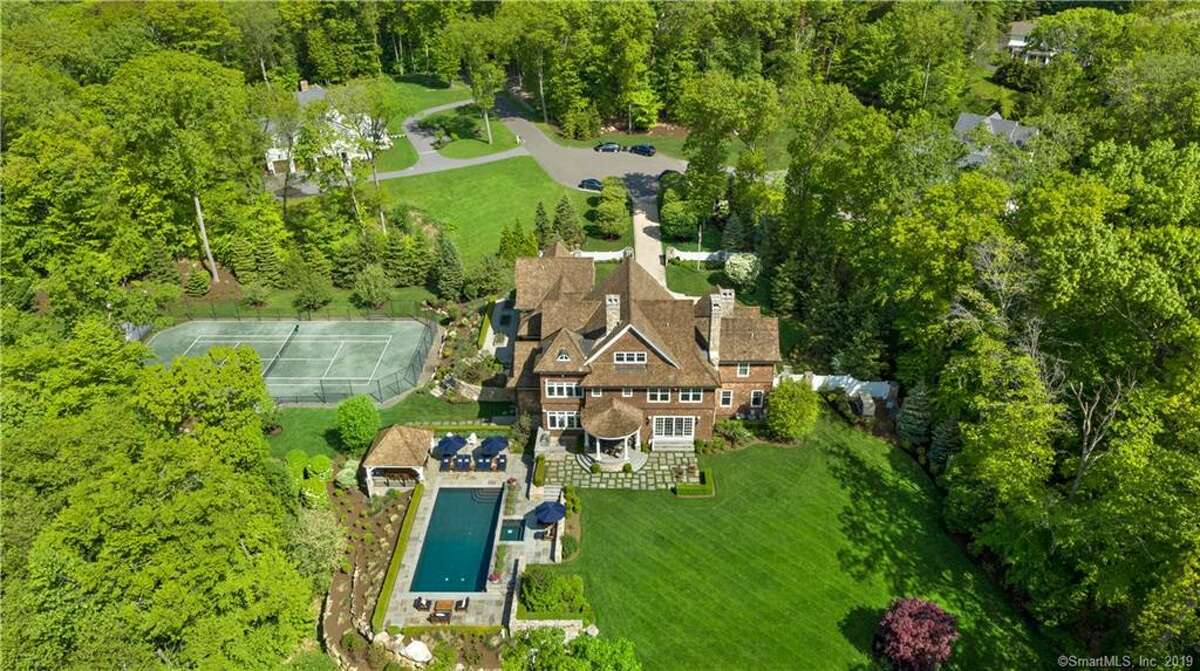 The home at 4 Pump Lane sold for $2,450,000. One of the largest sales of 2019 in Ridgefield.
