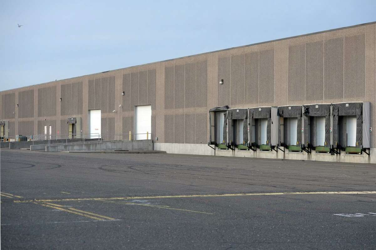 Amazon has announced plans to open a new distribution center located in warehouses at 500 and 600 Long Beach Boulevard, seen here in Stratford, Conn. Nov. 4, 2019.