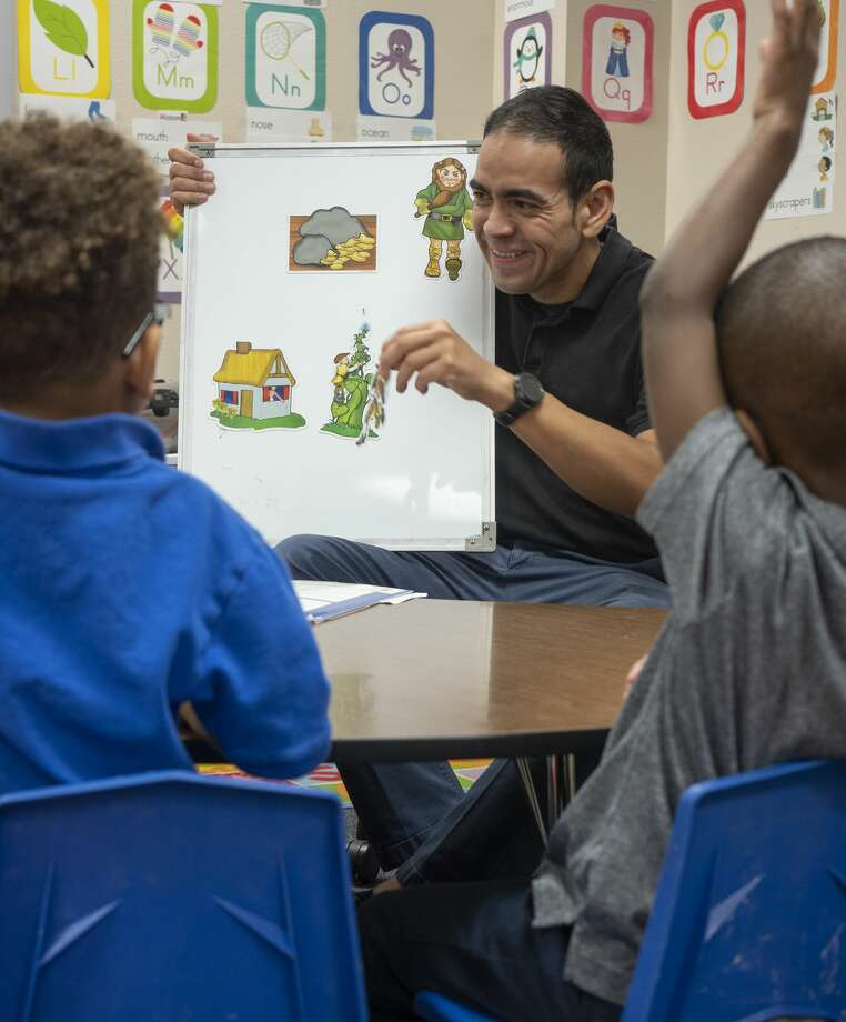 Jesse Garay, pre-k teacher at Henderson Elementary. 11/04/19 Tim Fischer/Reporter-Telegram Photo: Tim Fischer/Midland Reporter-Telegram