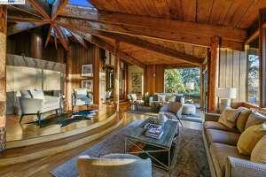 Designed by Frank Lloyd Wright protégé, Daniel Liebermann, this Berkeley Hills home is for sale for $2.8M.