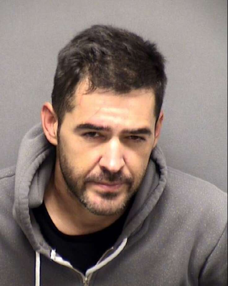 Jacob Edward Martin, 36, is charged with aggravated assault with a deadly weapon and deadly conduct with a firearm. Martin allegedly shot his estranged father-in-law Jaime Avila, 65, at 2:23 a.m. Wednesday, Oct. 30, 2019, in the 5400 block of Spring Cluster, according to San Antonio Police. Photo: Courtesy Bexar County Sheriff's Office