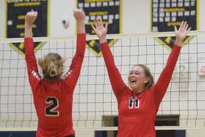 The USA Patriots defeated Harbor Beach in straight sets during the district opener on Monday, Nov. 4 at Bad Axe High School.
