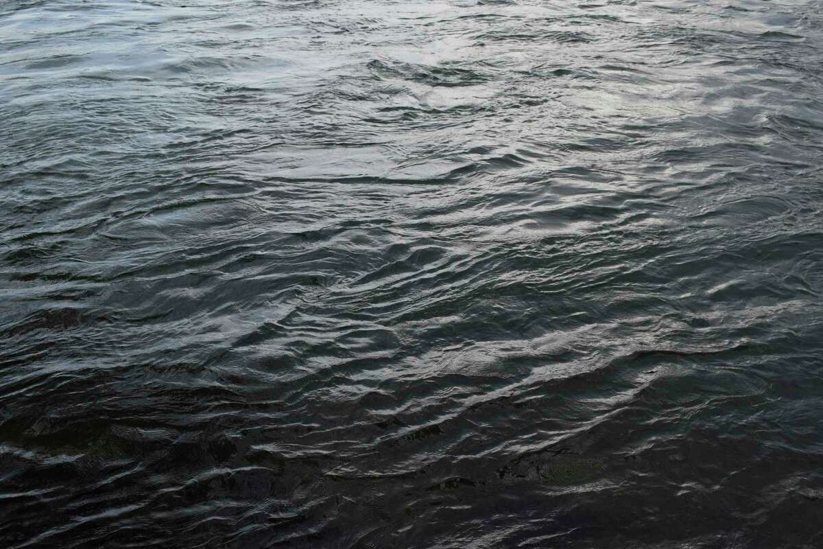 This June 22, 2019 photo shows ripples on the St. Lawrence River which supplies water to both of Montreal, Quebec, Canada's, two water treatment plants. (Mackenzie Lad/Institute for Investigative Journalism/Concordia University via AP)