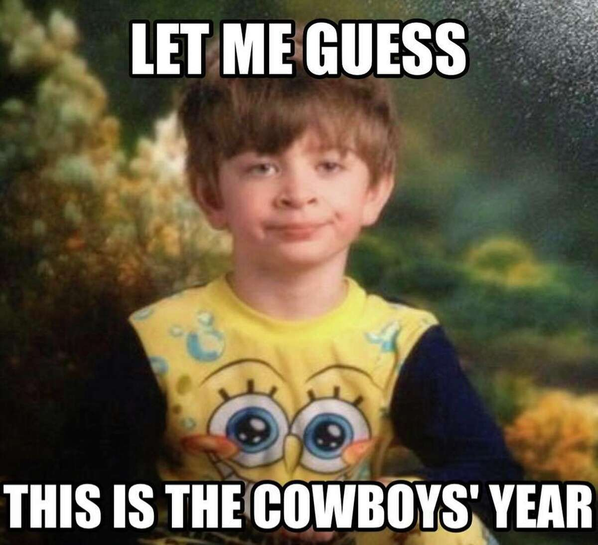 Memes Celebrate A Black Cat During The Cowboys Win