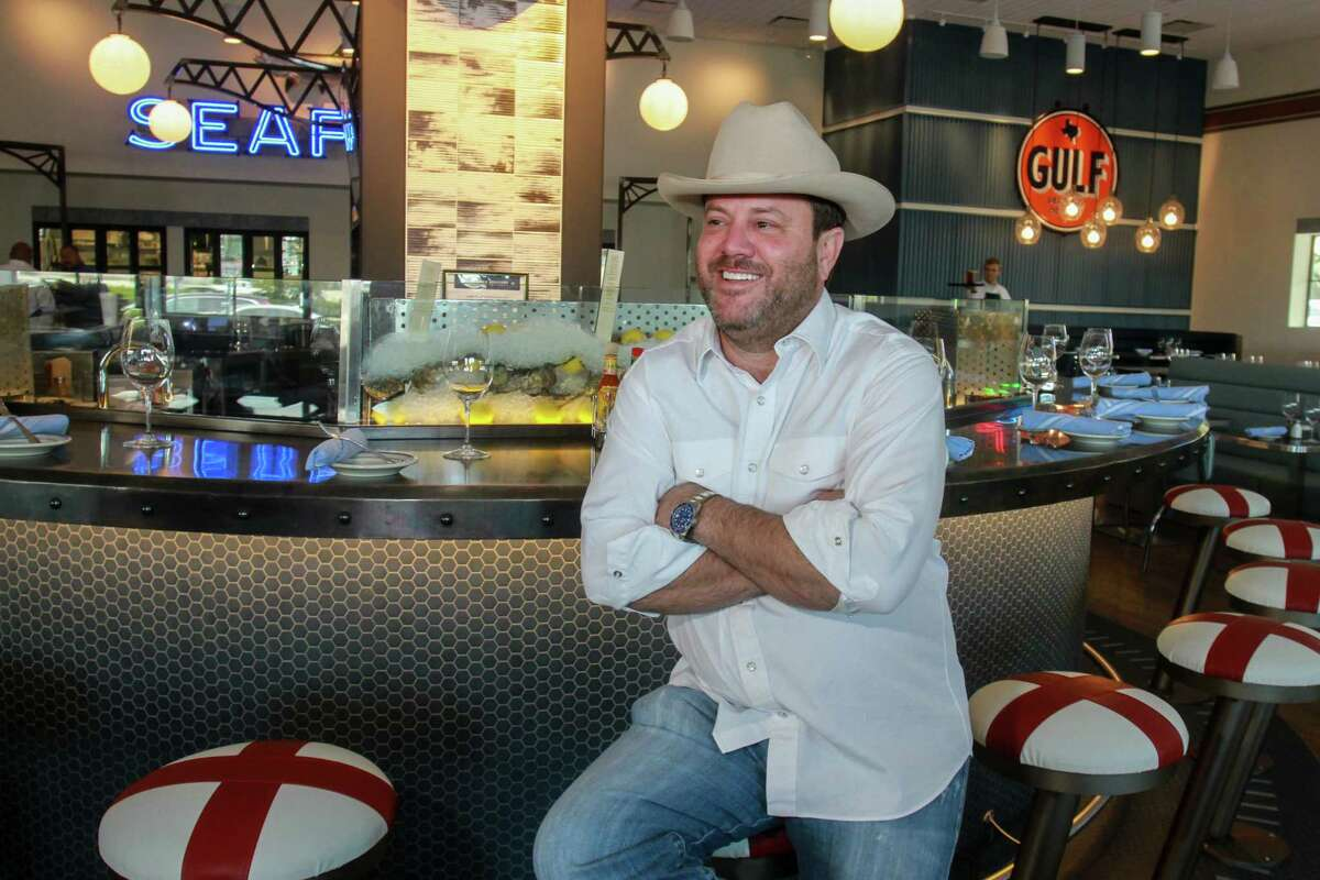 Owner Levi Goode at his new Goode Company Seafood, 10201 Katy Freeway.