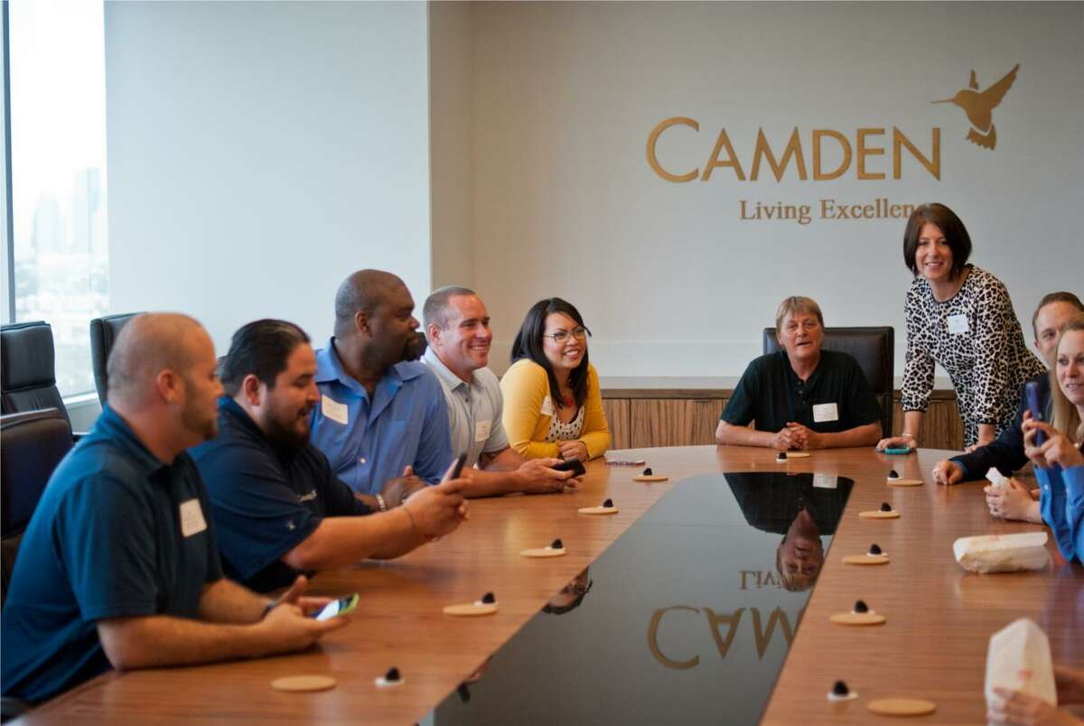 Camden Property Trust claims the No. 5 spot among midsize companies on the Chronicle's 2019 Top Workplaces survey.