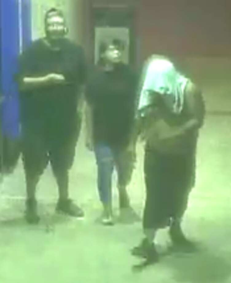 Crime Stoppers is offering a reward for the identity of individuals they say were involved in a robbery. Photo: Crime Stoppers