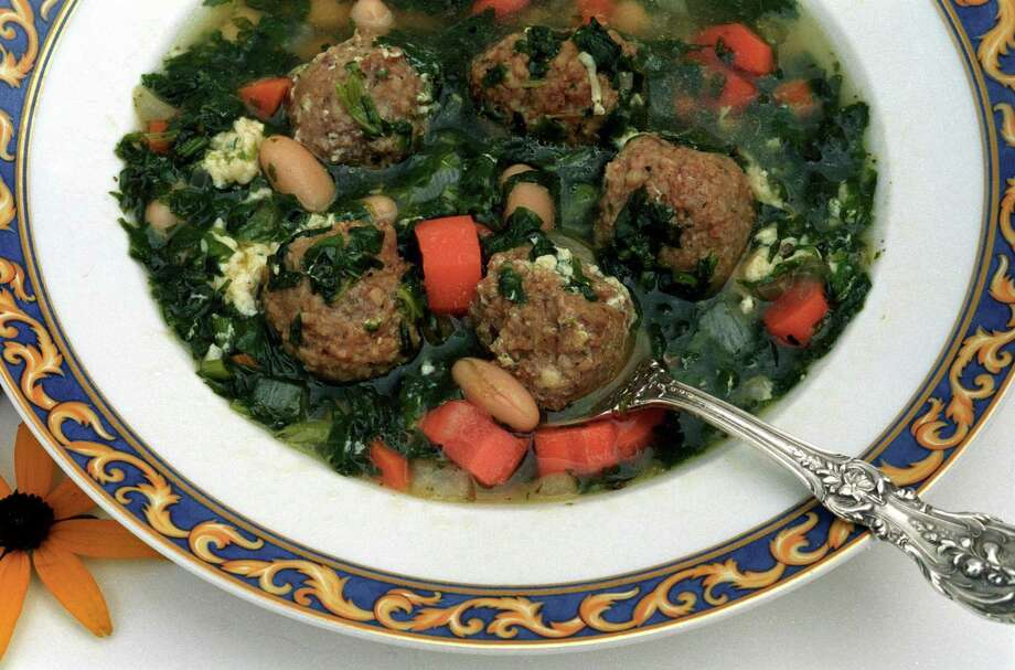 Italian Wedding Soup a healthy hearty soup to fill you up on a cool fall evening. Photo: KATS BARRY / UNITED FEATURES SYNDICATE / copyright 2004 by Kats Barry