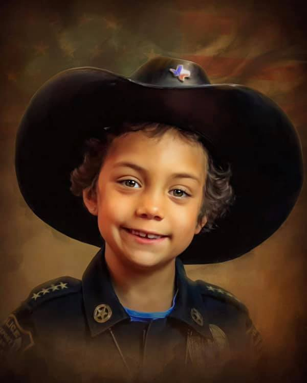 Farewell 'Officer Abigail': Funeral details announced for 7-year-old cancer warrior Abigail Arias