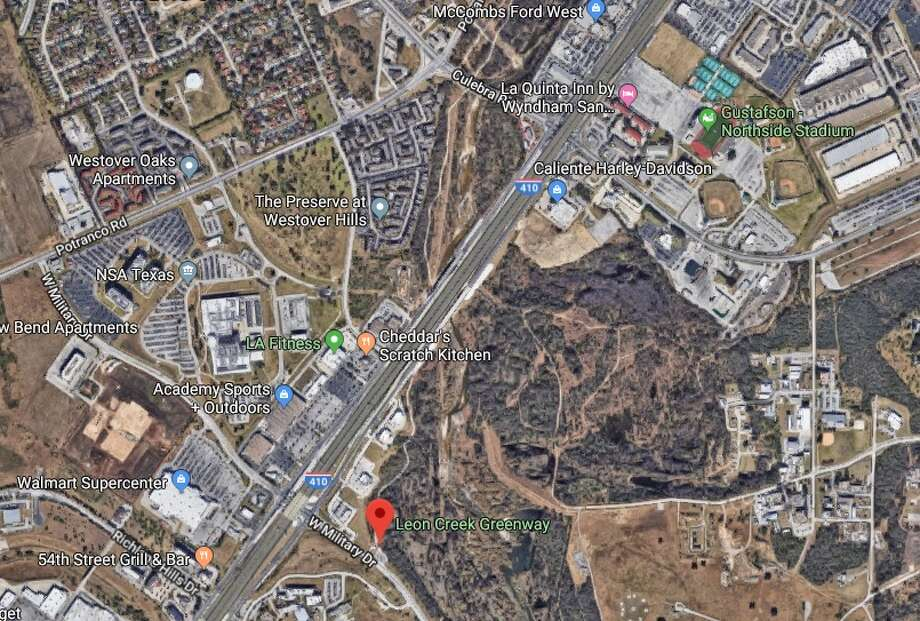 The Texas Department of Transportation will now only close one lane on the Frontage Road on Loop 410 instead of a mainlane on the highway, officials said.This is the stretch of the interstate in which traffic will be affected, according to TxDOT. Photo: Google Maps