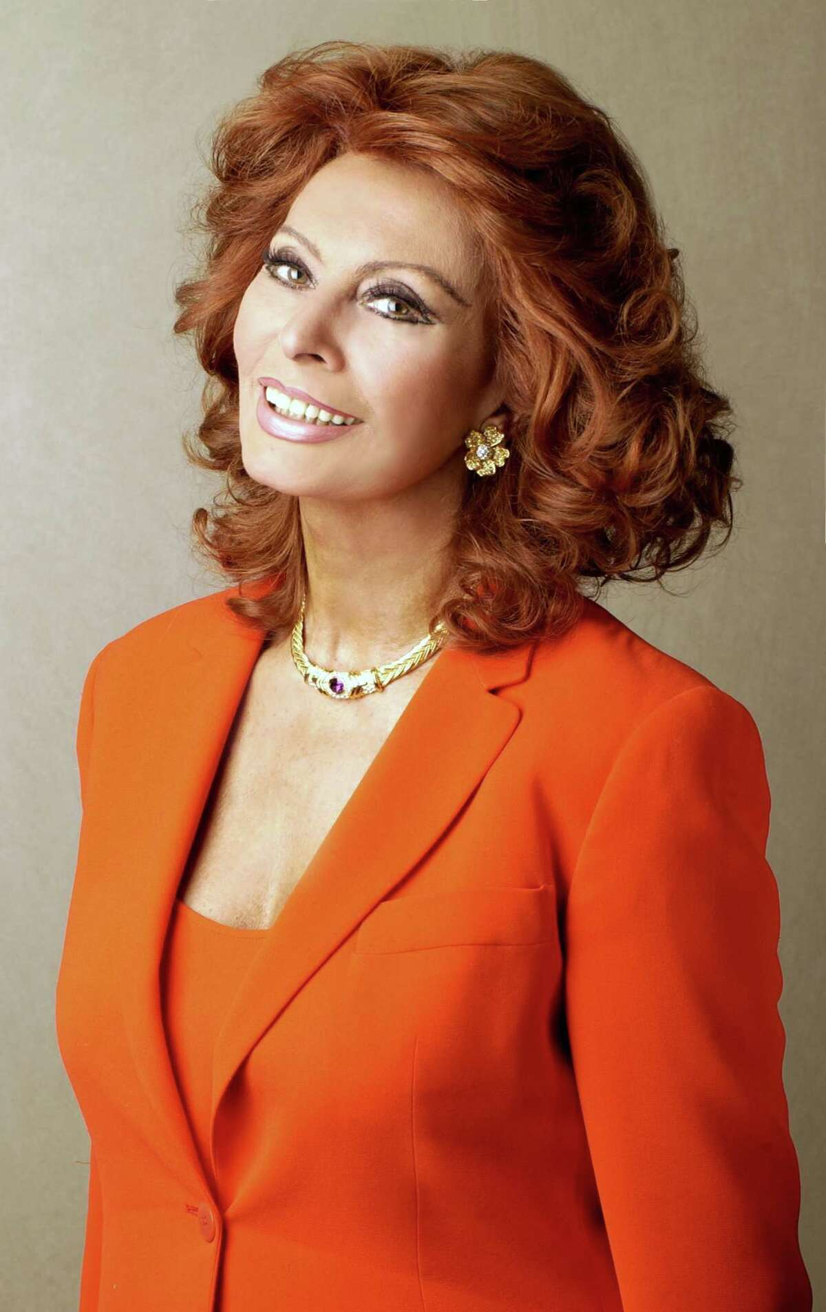Sophia Loren: An Evening with an Icon is on Nov. 16 at 8 p.m. at the Ridgefield Playhouse, 80 East Ridge Road, Ridgefield. Tickets are $195-$250. For more information, visit ridgefieldplayhouse.org.
