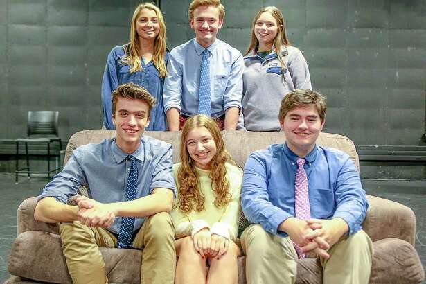 Adrienne Antonioli, Leila Pearson, Cameron Tyler, Allie Vogel, Henry Jodka and Emily Stute star in Admissions. It runs Nov. 8 and 9 at 7 p.m. and Nov. 10 at 3 p.m. at the Wyckoff Family Black Box Theater at St. Luke's School, 377 N. Wilton Road, New Canaan. The production is free. For more information, visit stlukesct.org.