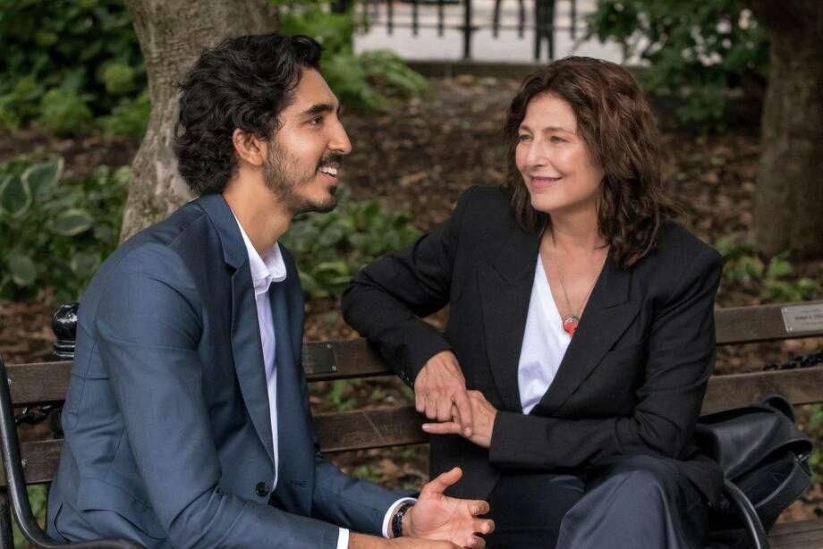 "Dev Patel and Catherine Keener in ""Modern Love."" Photo: IMDb/ Contributed Photo"