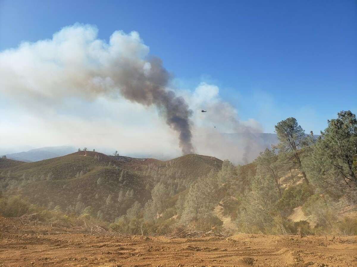 The Ranch Fire in Tehama county was 15%contained with 2,000 acres burned on the morning of Nov. 5, 2019.