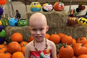 At age 3, Kinsley Curley of Katy was diagnosed with Wilms Tumor (kidney cancer). She talks about childhood cancer and wants to share her story, says her mom, Erica, while being supportive of other children who also have been diagnosed.