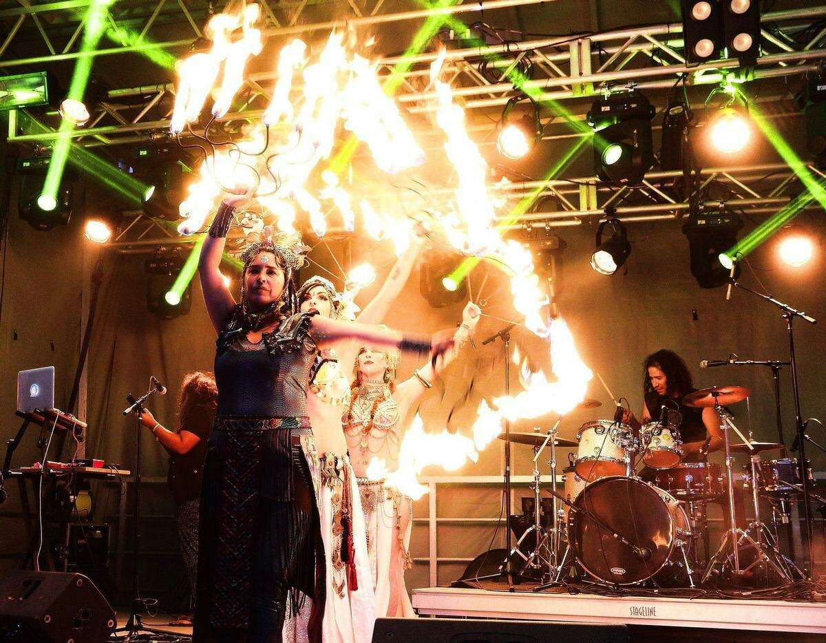 Lunar Fire will perform a site-specific work as part of the 2019 edition of Luminaira. She will perform from 7:10 to 7:55 p.m. at Hemisfair on Saturday.
