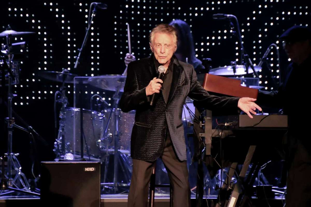 Frankie Valli performs at Etess Arena in Atlantic City, New Jersey, last year.