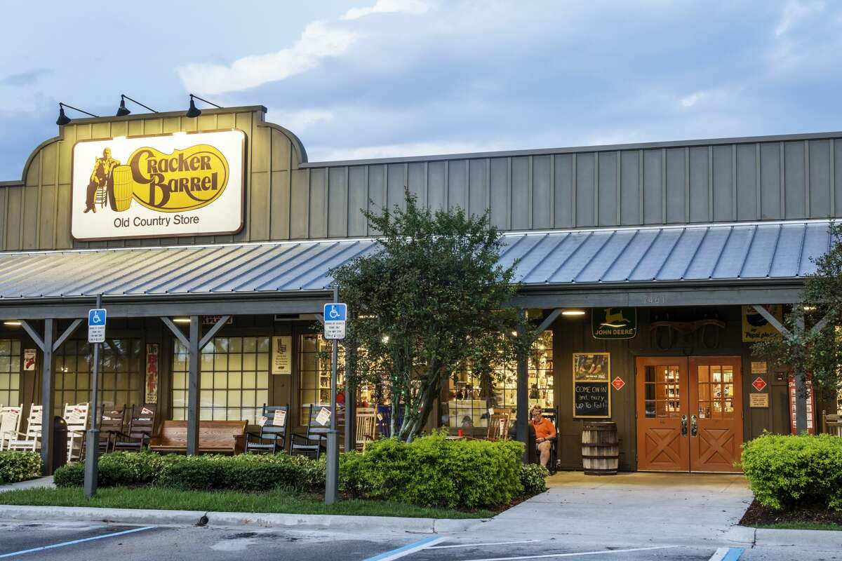 FILE-- A new Cracker Barrel location is opening in Rocklin, Calif. on Dec. 2, 2019.