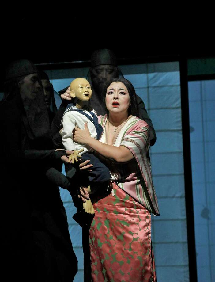 """The 2019-20 season of The Met: Live in HD will continue at the Warner Theatre on Nov. 9 with Puccini's """"Madama Butterfly"""" at 12:55 pm in the Nancy Marine Studio Theatre. Photo: Metropolitan Opera / Contributed Photo / KEN HOWARD 2017"""