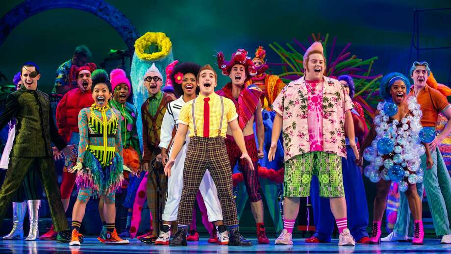 "Broadway's award-winning hit ""The Spongebob Musical"" is making its San Antonio premiere, performing four shows at the Majestic Theatre next year. Photo: Photo By Jeremy Daniel"