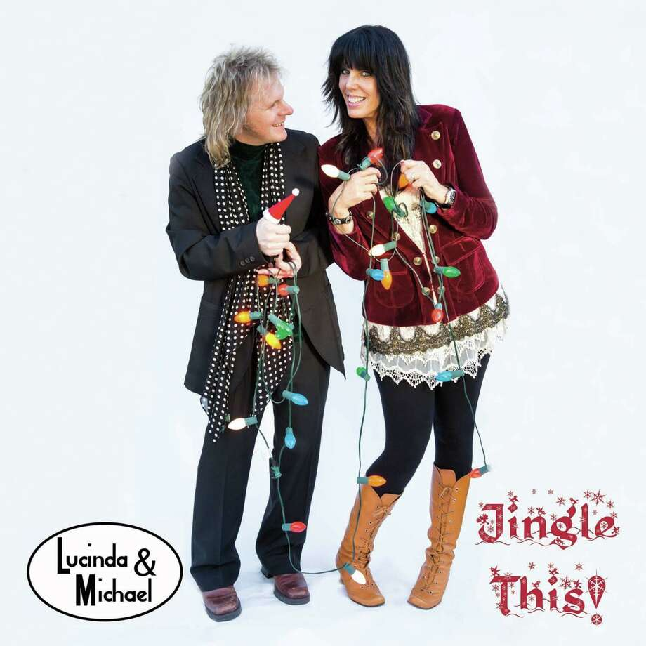 National recording artists Lucinda & Michael will present their holiday show, Jingle This, at 8 p.m. on Nov. 23, in the Nancy Marine Studio Theatre Photo: Lucinda & Michael/ Contributed Photo