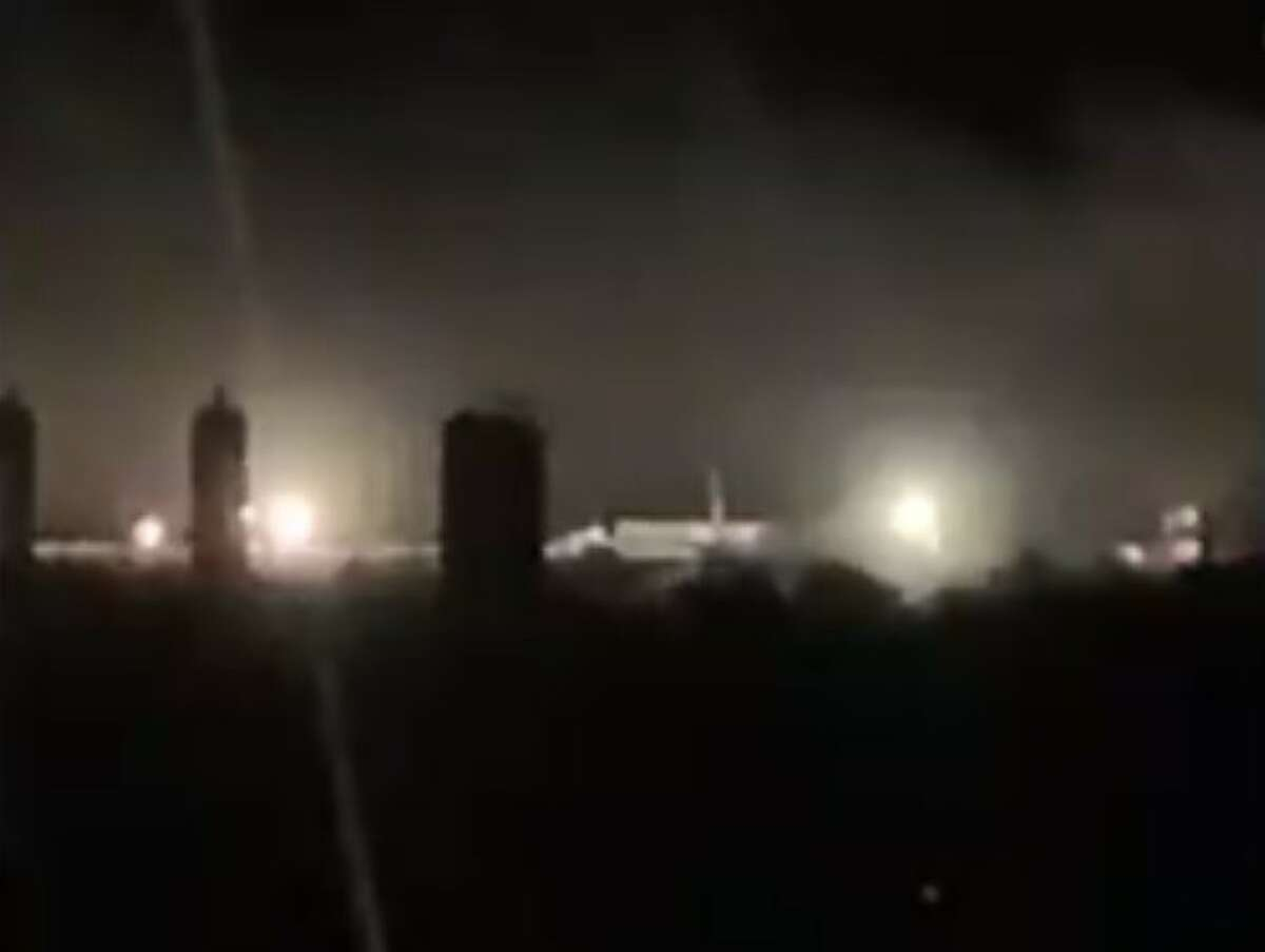 The accident happened at a Devon Energy natural gas well near Cotton Patch Road and FM 952 in DeWitt County early Friday morning. No injuries were reported but authorities evacuated rural families living within a two-mile radius of the blowout, which sent natural gas and a light form of crude oil known as condensate spewing into the sky and surrounding countryside.
