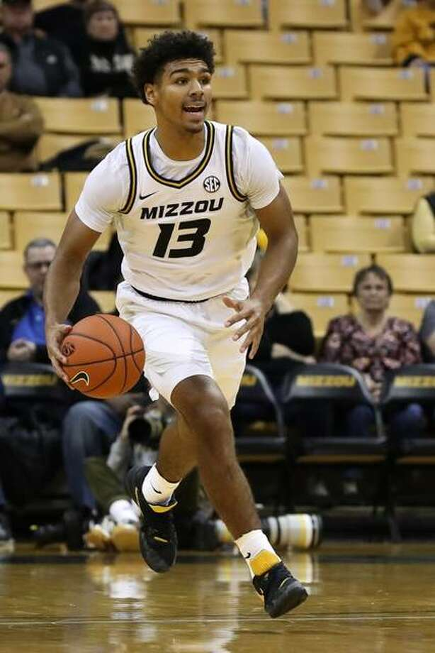 Missouri junior Mark Smith drives down the court in an 80-56 exhibition win over Central Missouri on Nov. 1 at Mizzou Arena. Photo: Missouri Athletics