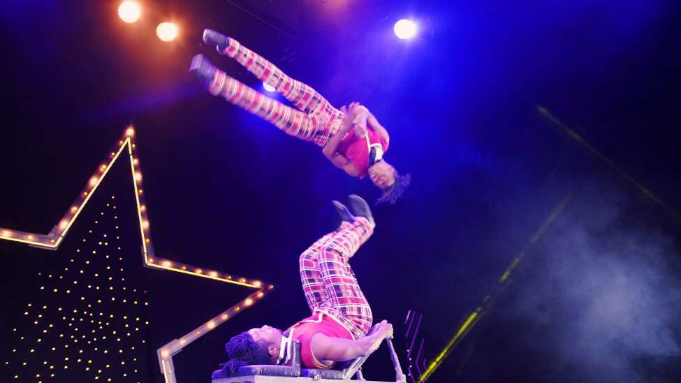 Cirque du Soleil, Jan. 29-Feb. 2, Times Union Center. International acrobats posting up with six 'OVO' shows.