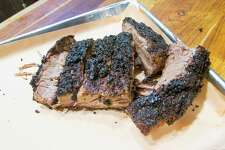 Texas style kosher brisket will be cooked at Sunday's Texas Kosher BBQ Championship at Congregation Agudas Achim, located on San Antonio's North Side at 16550 Huebner Road.