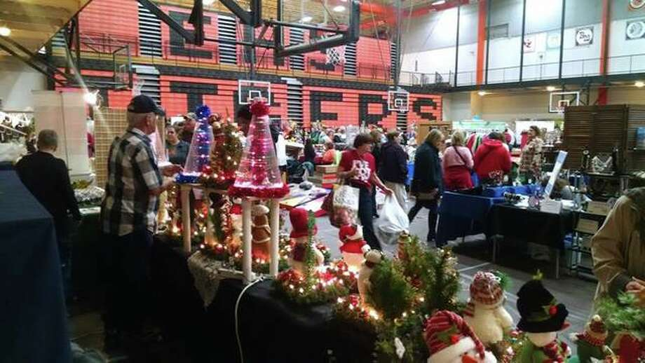 Some of the past crafts featured last year at the Edwardsville High School Tiger Band and Boosters Craft Fair. Photo: For The Intelligencer